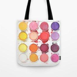 Messy Watercolors Tote Bag