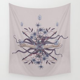 Ghosts of Scandinavia. Norwegian bouquet Wall Tapestry