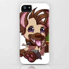 Happy Hyena iPhone Case