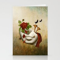 broken Stationery Cards featuring Broken by Diogo Verissimo