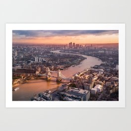 London, England 08 Art Print
