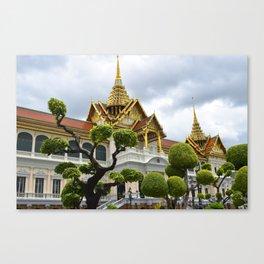 Bangkok Royal Palace Canvas Print