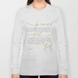 2 Corinthians 1:3,4 - Goldie Long Sleeve T-shirt