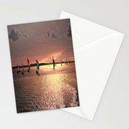 Sunset Sail In Bermuda Stationery Cards
