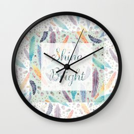Shine Bright- Gypsy Dreams Wall Clock