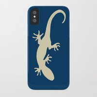 lizard iPhone & iPod Cases featuring Lizard by Abundance
