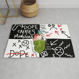 Dope Creates Monsters #2 Rug