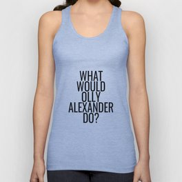 What Would Olly Alexander Do? Unisex Tank Top