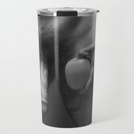 Naked Athlete and Apple Travel Mug