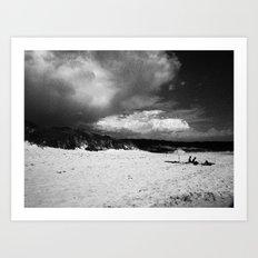 Doomsday Beach Art Print
