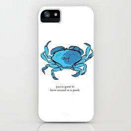 in a pinch  iPhone Case