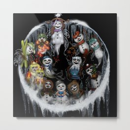 12 ZODIACS - Season - Winter Metal Print