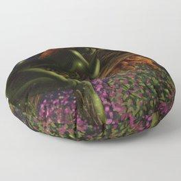 Poison Ivy Floor Pillow