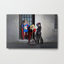 Gotham Fun  Metal Print