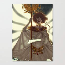 Storm and Fire Canvas Print