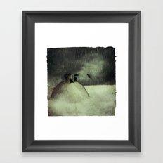 n.3 or maybe 7 Framed Art Print