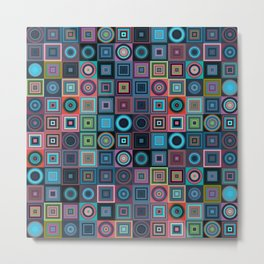 different cubes Metal Print