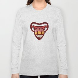 Pencil Mouth Long Sleeve T-shirt