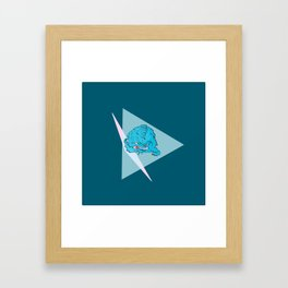 Krang  Framed Art Print