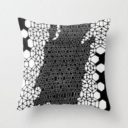 Honeycomb 4 Throw Pillow