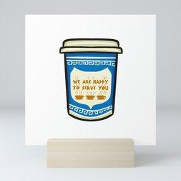 NYC Coffee Cup Mini Art Print