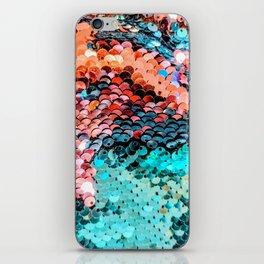 Mermaid Glitter iPhone Skin