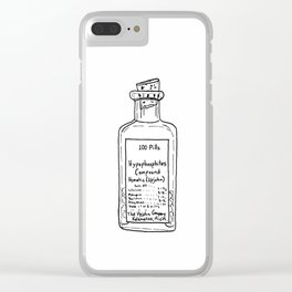 Antique Medical Bottle Clear iPhone Case