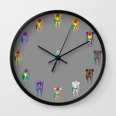 Team Samus Wall Clock