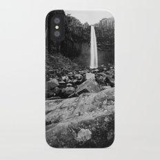 Svartifoss Waterfall Iceland iPhone X Slim Case