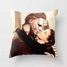 Michael Myers as Clark Gable Throw Pillow