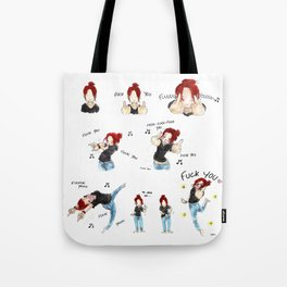 F*CK YOU ! Tote Bag