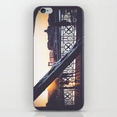 Freedom bridge - summer sunset IV. iPhone & iPod Skin