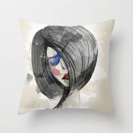 Girlie 02 Throw Pillow