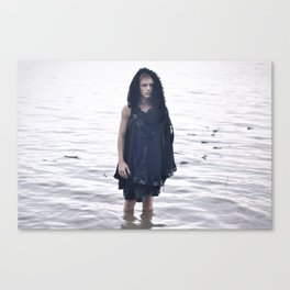 Boy in the Water Canvas Print