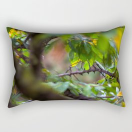 Leaves on a tree Rectangular Pillow