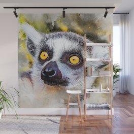 Lemur #lemur #animals Wall Mural