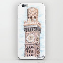 Bromo Seltzer Tower iPhone Skin