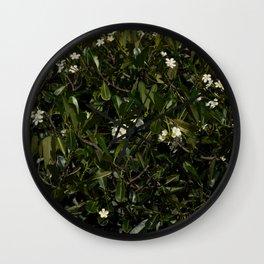 Bonitu i Flores Plumeria Wall Clock