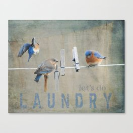 Laundry Day Let's Do Laundry Canvas Print