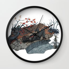 Richard Gansey III Wall Clock