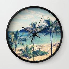 Hanauma Bay Wall Clock