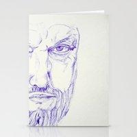 kurt rahn Stationery Cards featuring Kurt by Raumzucker