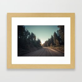 Sitgreaves Sunrise Framed Art Print
