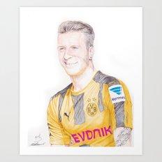 Reus Pen Drawing Art Print