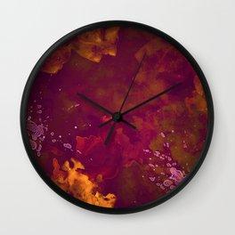 Pizza Sauce Wall Clock