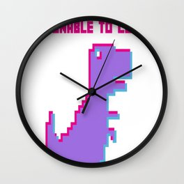Dinobit Wall Clock