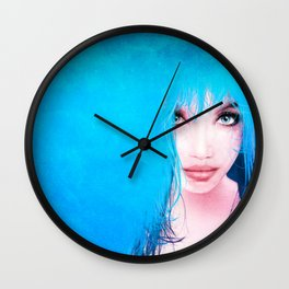 MonGhost XI - TheBlueDream Wall Clock