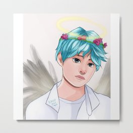 Kim tae young Bt s V  Metal Print