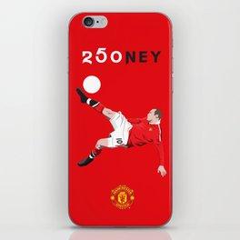 Rooney 250 iPhone Skin