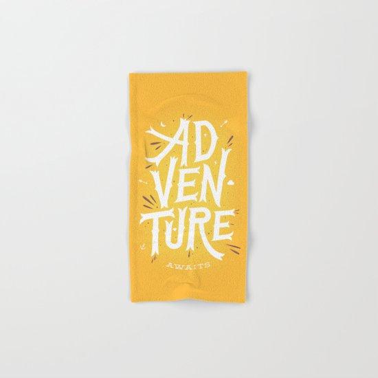 Adventure Awaits Hand & Bath Towel
